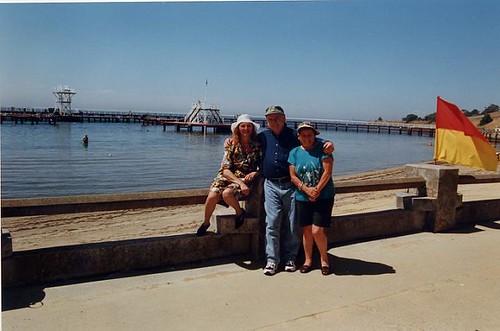 Carmelina, Charles & Sister Josephine in Eastern Beach.