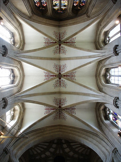 Wells Cathedral / transept vault