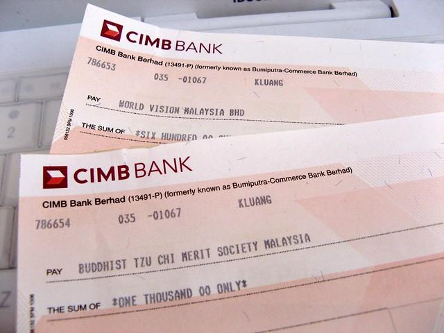 Bank Draft Check