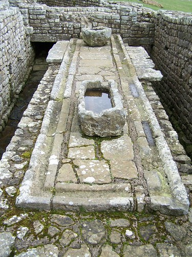 The Housesteads latrine