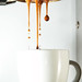 Espresso pour: La Marzocco naked portafilter extraction on a Rancilio Silvia by flippantfiasco