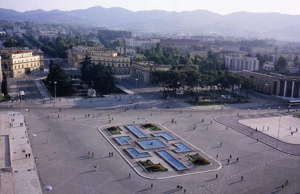Main square, Tirana, Albania