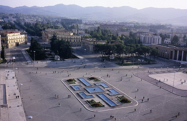 Tirana, Albania by CC user peter_curb on Flickr