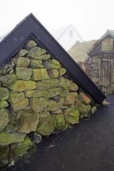 Stone, timber and corrugated iron