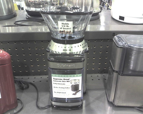 Fry's Appliance Round Up: Coffee Bean Grinder (that isn't totally messy!)