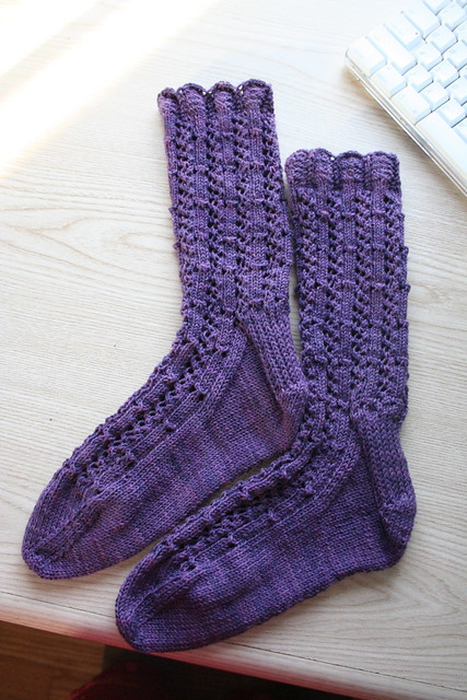 Fancy Silk Socks