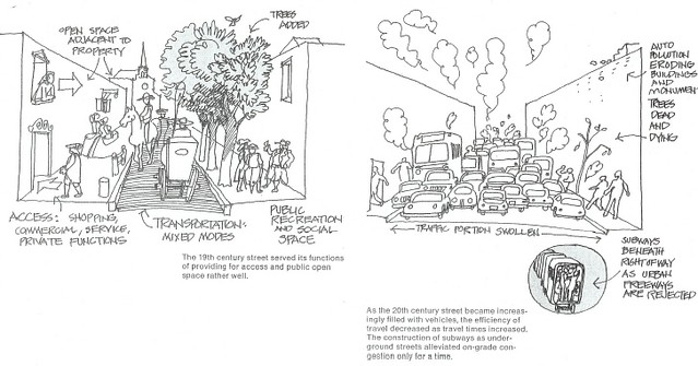 19th Century vs. 20th Century Street Design