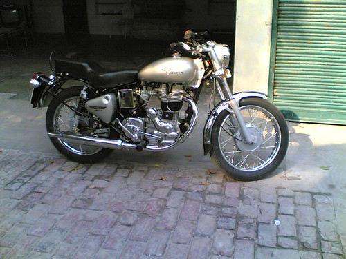 The Royal Enfield.