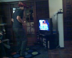 Tim kickin ass and taking names on DDR