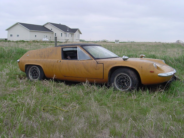 1968 lotus europa barn find i was told if i wanted a lo flickr photo sharing. Black Bedroom Furniture Sets. Home Design Ideas