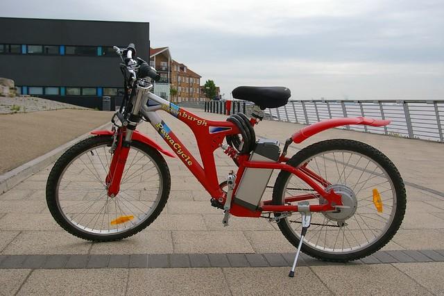 Powacycle Edinburgh   This is my new electric bike. Or