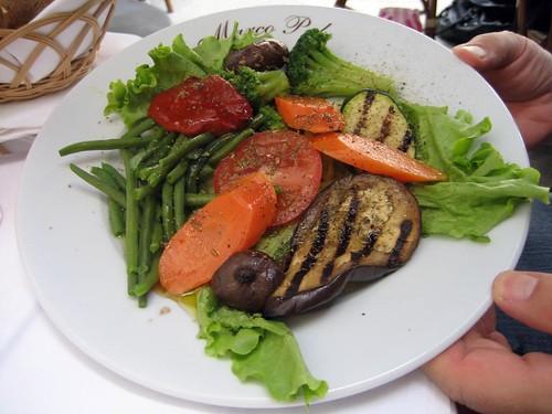 Vegetable antipasti-Marco Polo-Paris
