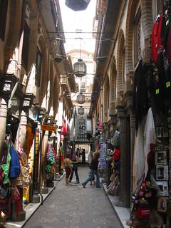 Granada Alcaiceria Seidenmarkt hinter der Kathedrale