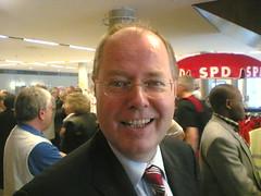 SPD-Landesparteitag: Peer Steinbrück hält eine mitreißende Rede