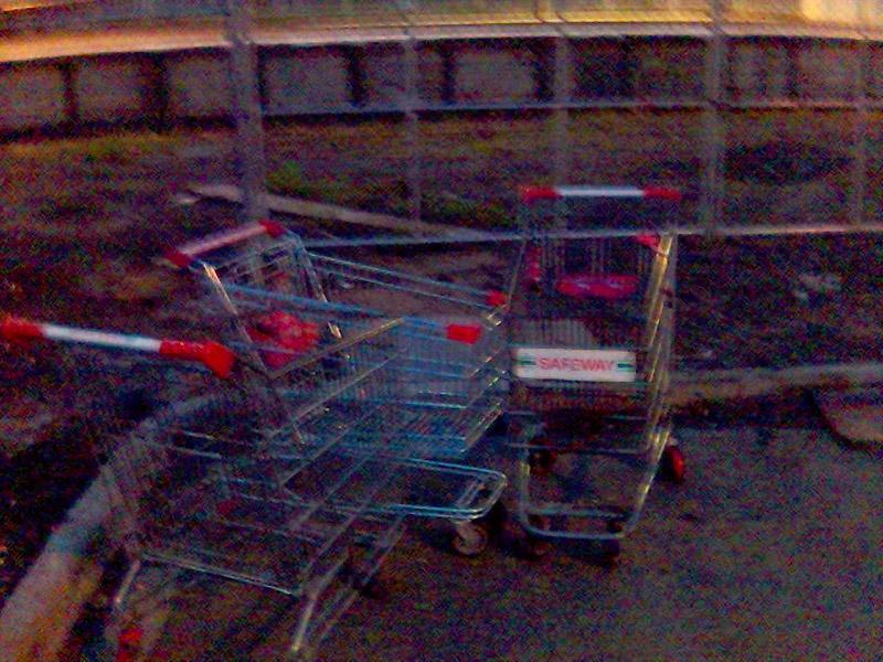 run away! run away! or business deals in parking lots*