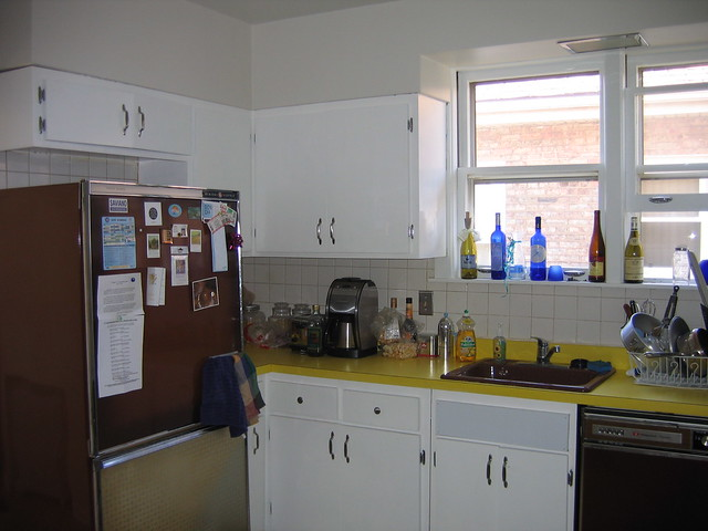 Kitchen cabinets repainted flickr photo sharing for Kitchen cabinets 0 financing