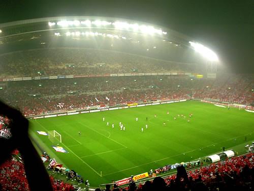 Urawa Reds vs Omiya Ardija at Saitama stadium2002