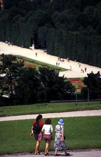 Schönbrunn, Wien, Austria - July 1997