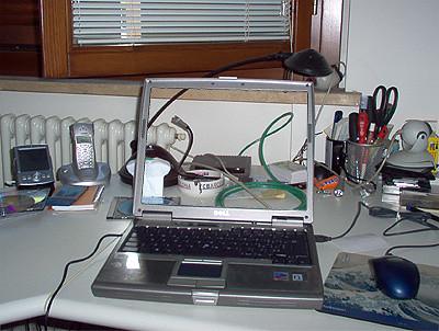new transparent laptop