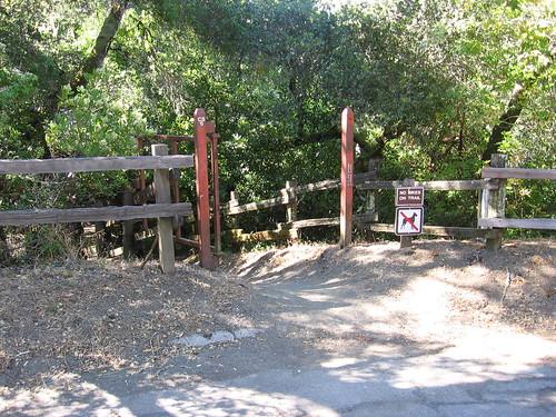 Huddart Park Trail Run Entrance