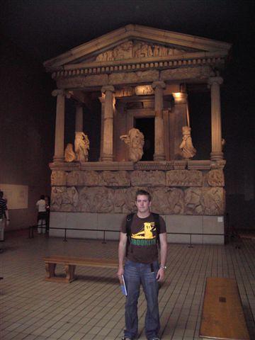 Me with Stolen Greek stuff | British Museum has great stuff