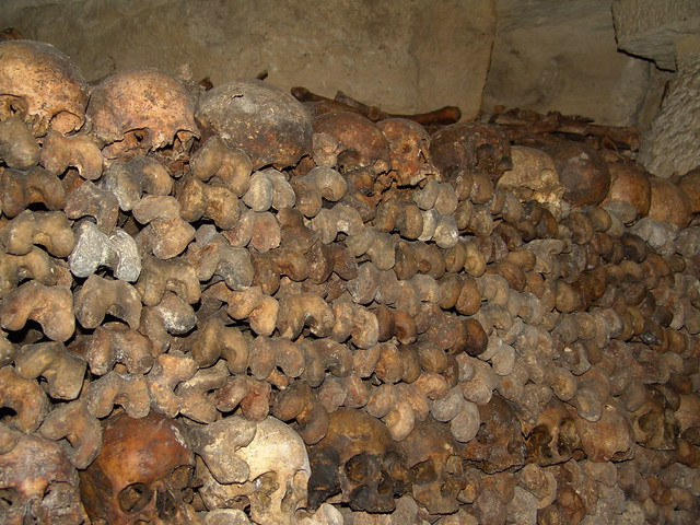 Catacombs Paris 1