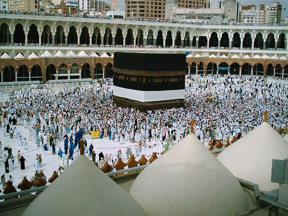 The Kaaba in Mecca by CC user etobicokesouth on Flickr