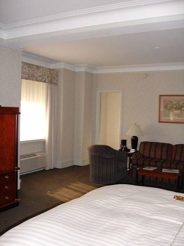 Hilton Cincinnati Netherland Plaza Hotel Room, Cincinnati OH