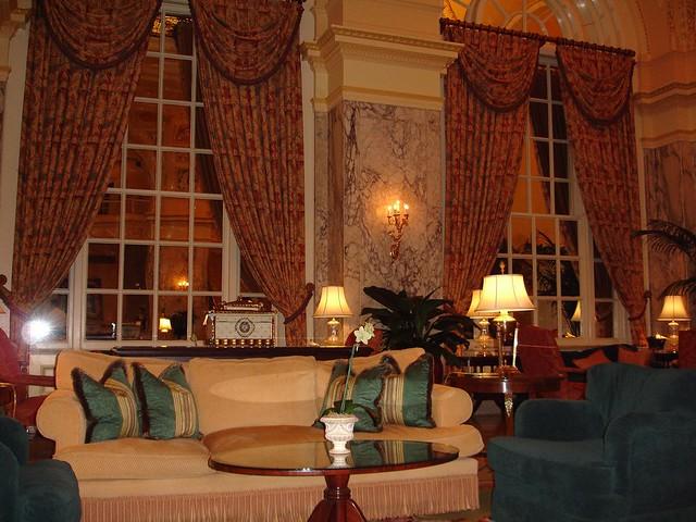 Lobby, The Hermitage Hotel, Nashville TN