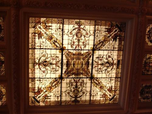 Skylight in Lobby, The Hermitage Hotel, Nashville TN