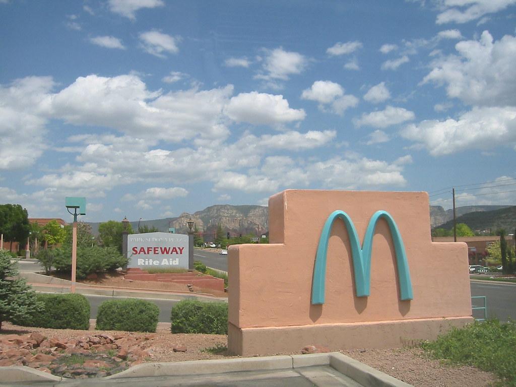 Sedona's Turquoise McDonald's