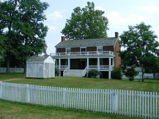 McLean House at Appamatox from Flickr via Wylio