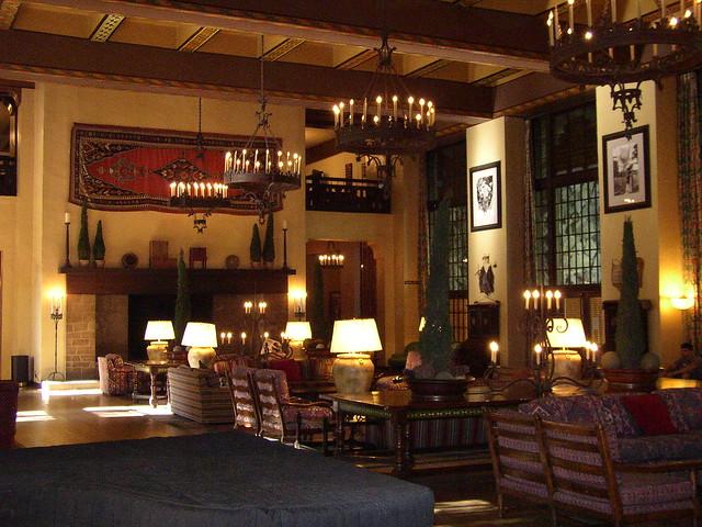 Interior of The Ahwahnee Hotel in Yosemite  Flickr - Photo Sharing!