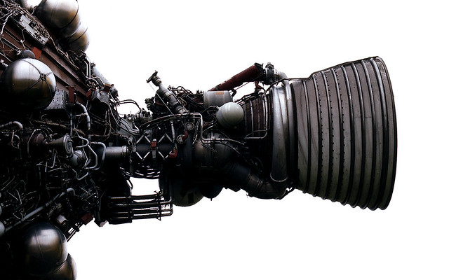 Photo:Saturn V Rocket Engine By:Project 404