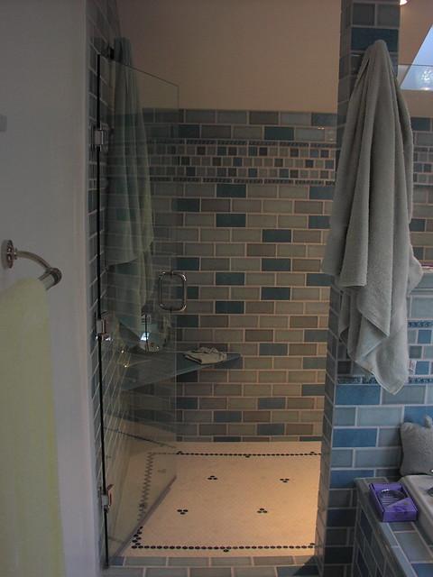 walk in dusche badezimmer einrichten ebenerdige dusche