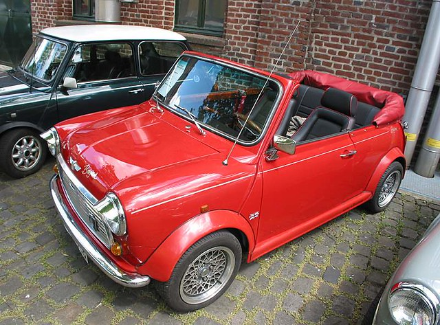 austin mini cooper convertible side view flickr photo sharing. Black Bedroom Furniture Sets. Home Design Ideas