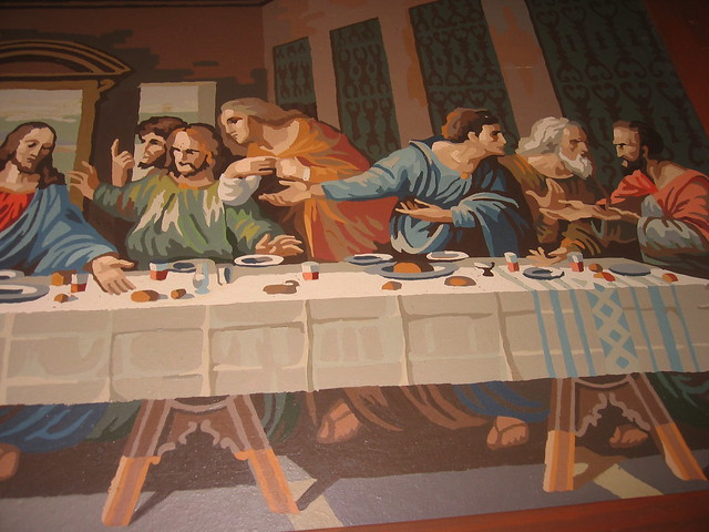 last supper paint-by-numbers detail3