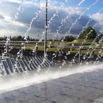 Sydney Olympic Park Fountain
