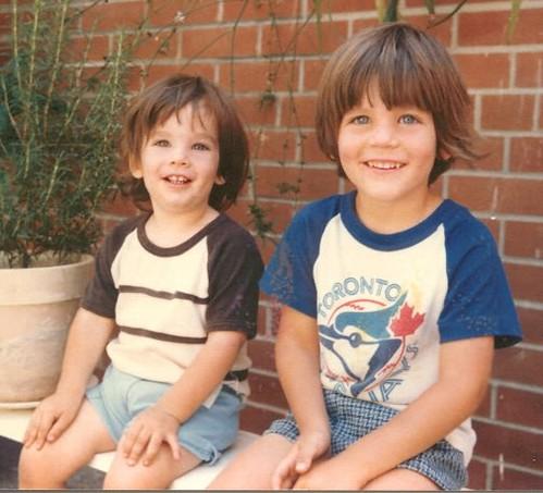 Ryan and I as Kids