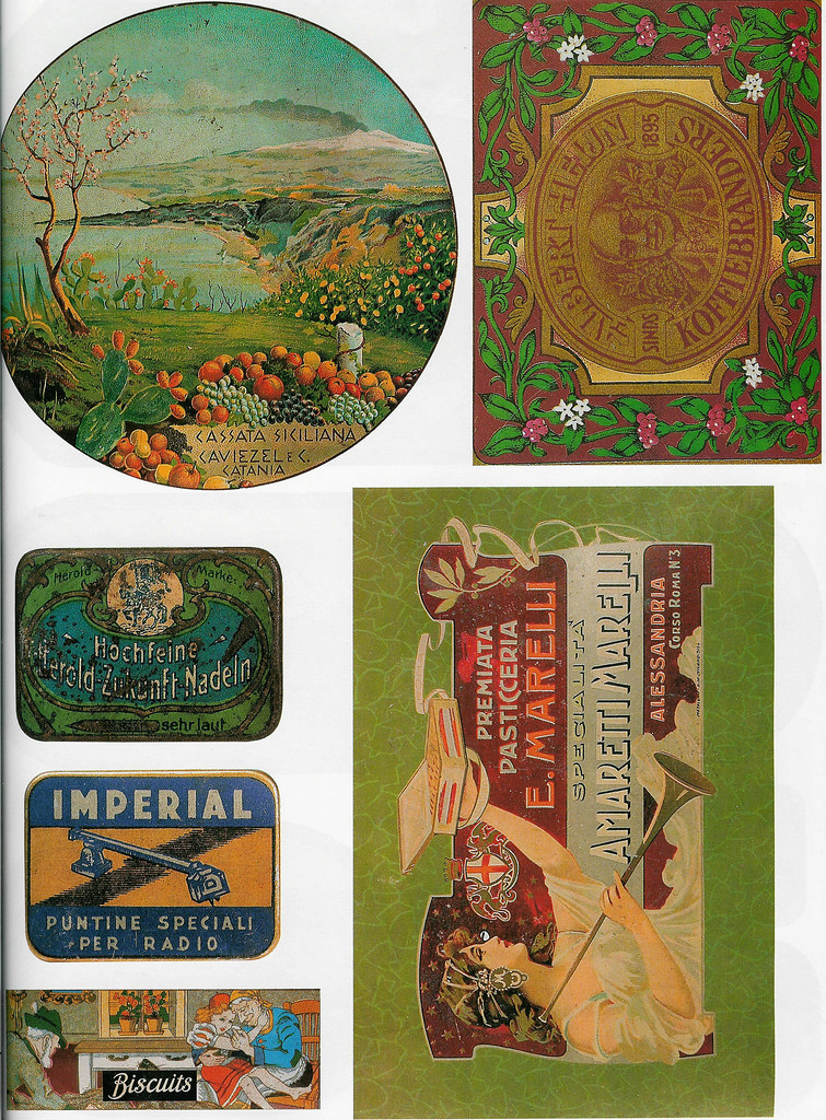 Big scanned decoupage Images to Download | Some Beatiful Vintage Labels, more image sheets at www.ihanna.nu