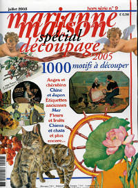 Found a Decoupage Magazine