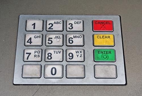 atm / cash machine buttons