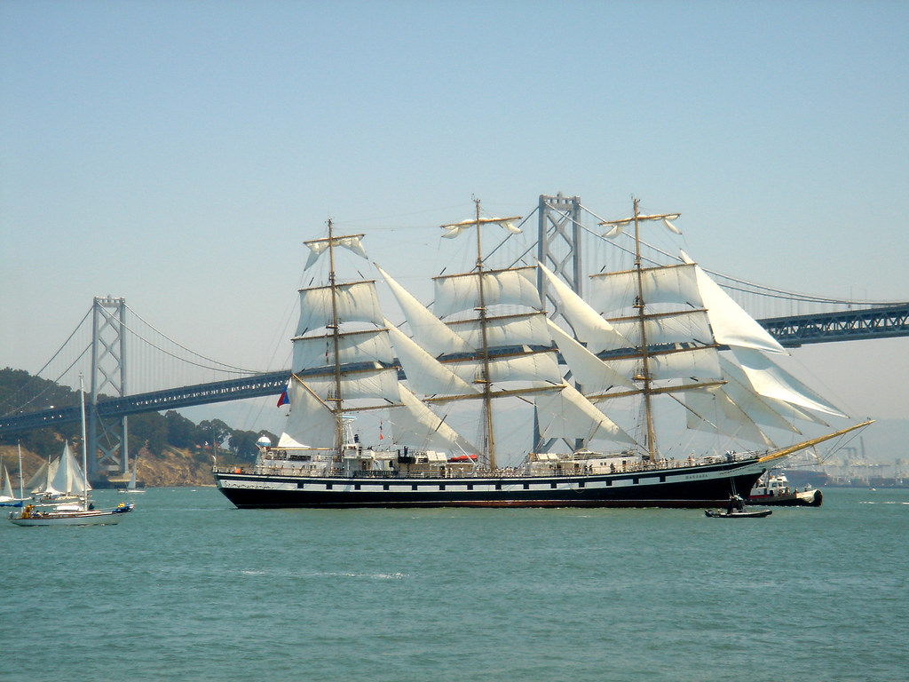 Russian tall ship Pallada