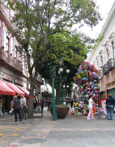 Avenida Cinco de Mayo, Puebla, Mexico