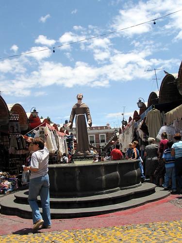 Bazar in Puebla, Mexico