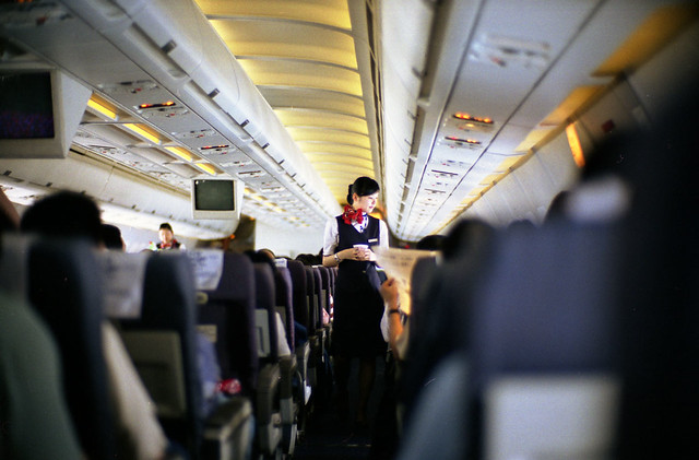Cabin Attendant of China Eastern Airline I