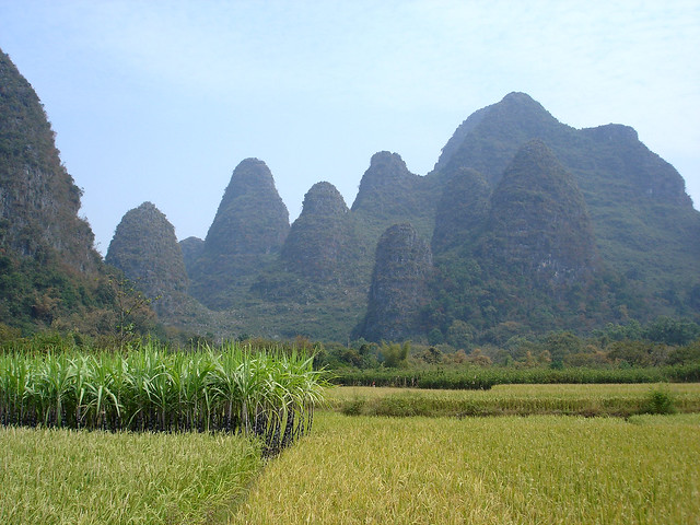 karst landscape near yangshuo an example of the amazing go green logos free go green logo images