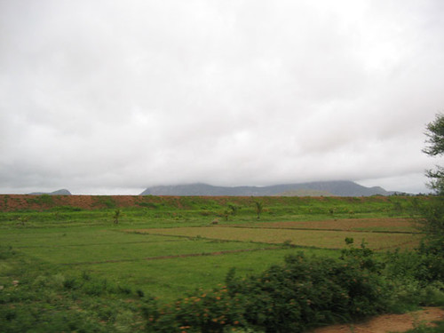 Nandi Hills partially covered