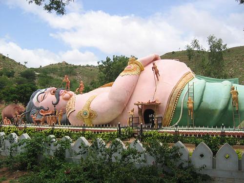Kumbhakarna Statue