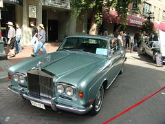 rolls-royce camargue(0.0), performance car(0.0), convertible(0.0), automobile(1.0), automotive exterior(1.0), rolls-royce(1.0), rolls-royce corniche(1.0), vehicle(1.0), rolls-royce silver shadow(1.0), rolls-royce corniche(1.0), antique car(1.0), sedan(1.0), classic car(1.0), vintage car(1.0), land vehicle(1.0), luxury vehicle(1.0), motor vehicle(1.0),